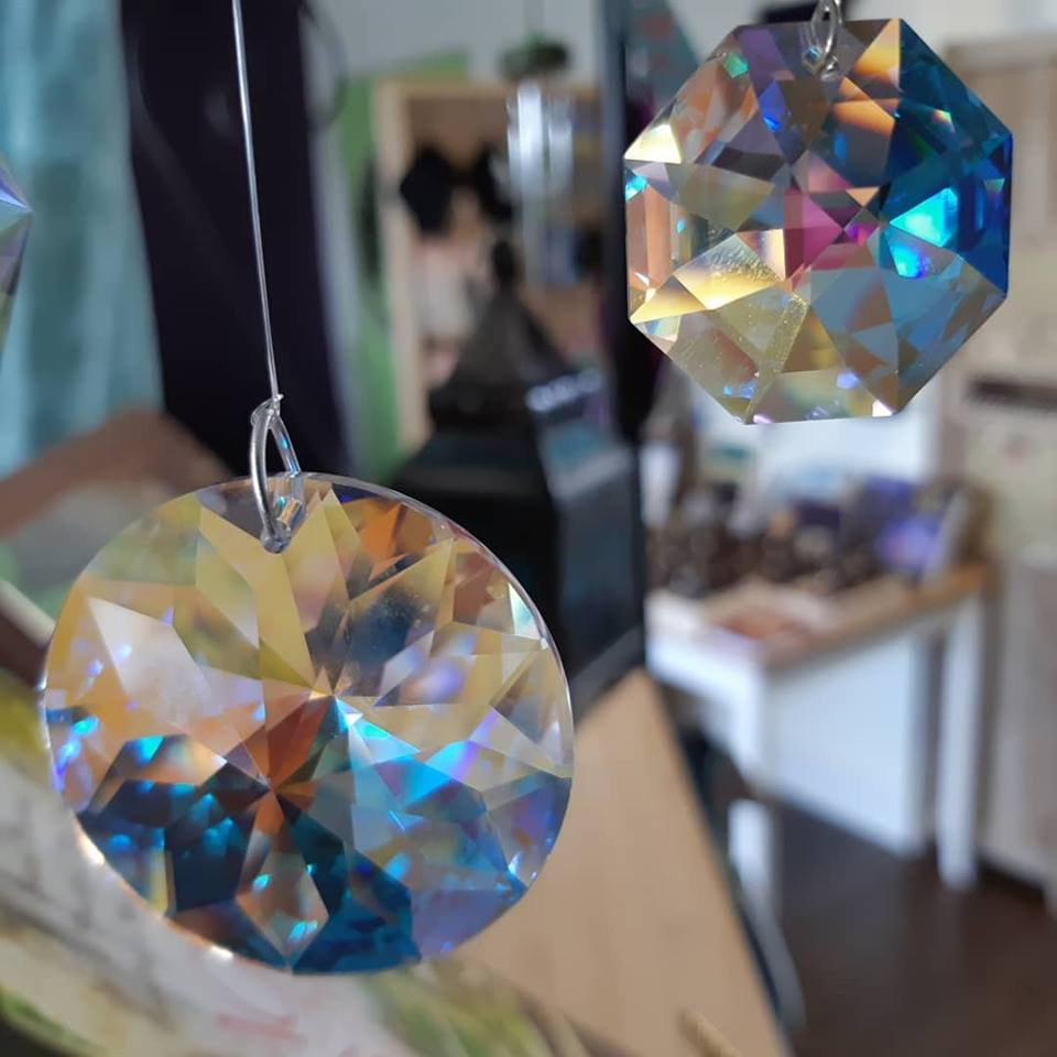 Let the Light in! Energize your home with Crystals!