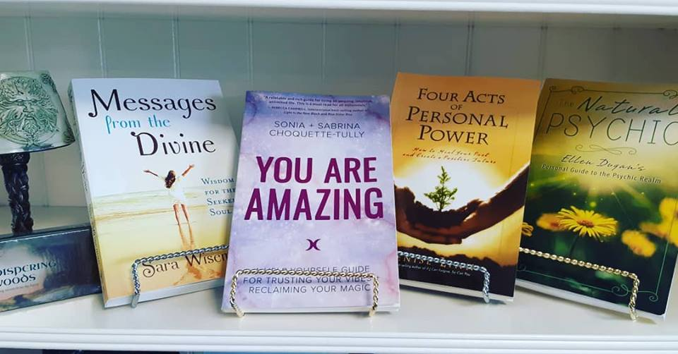 You Are Amazing!! Truth! These are some of the new Inspirational books we received yesterday!