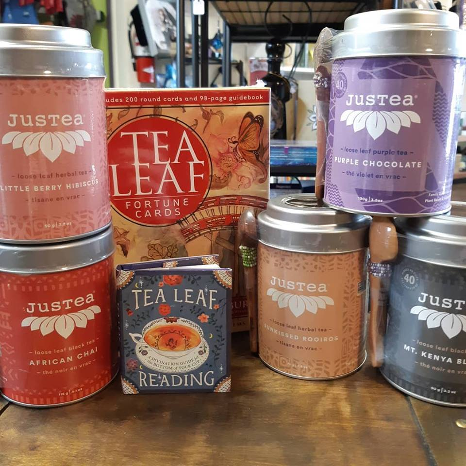 I'm swooning over this new fair trade loose tea! (especially the Purple Chocolate!)