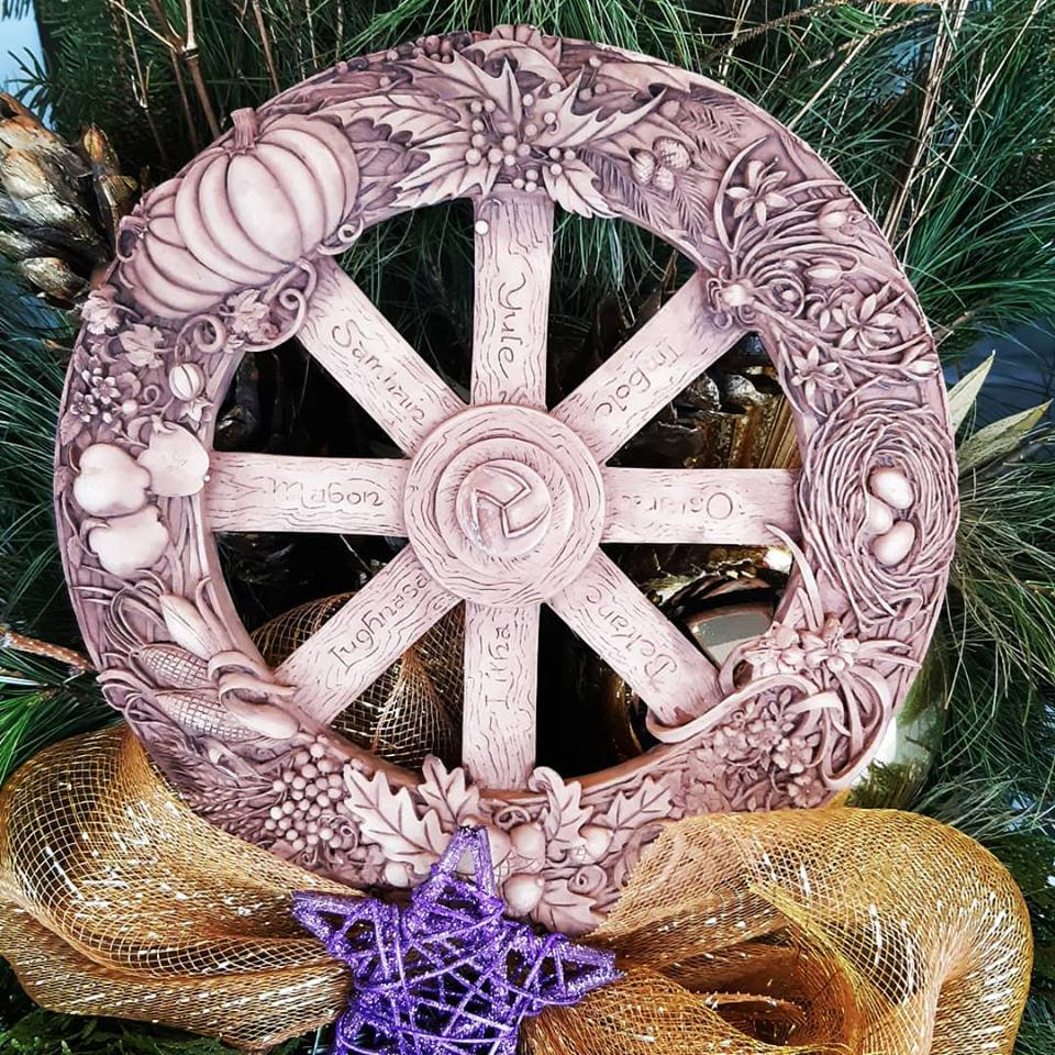 It's almost time to turn the wheel! 17 days until the Winter Solstice and all the magic of Yule!