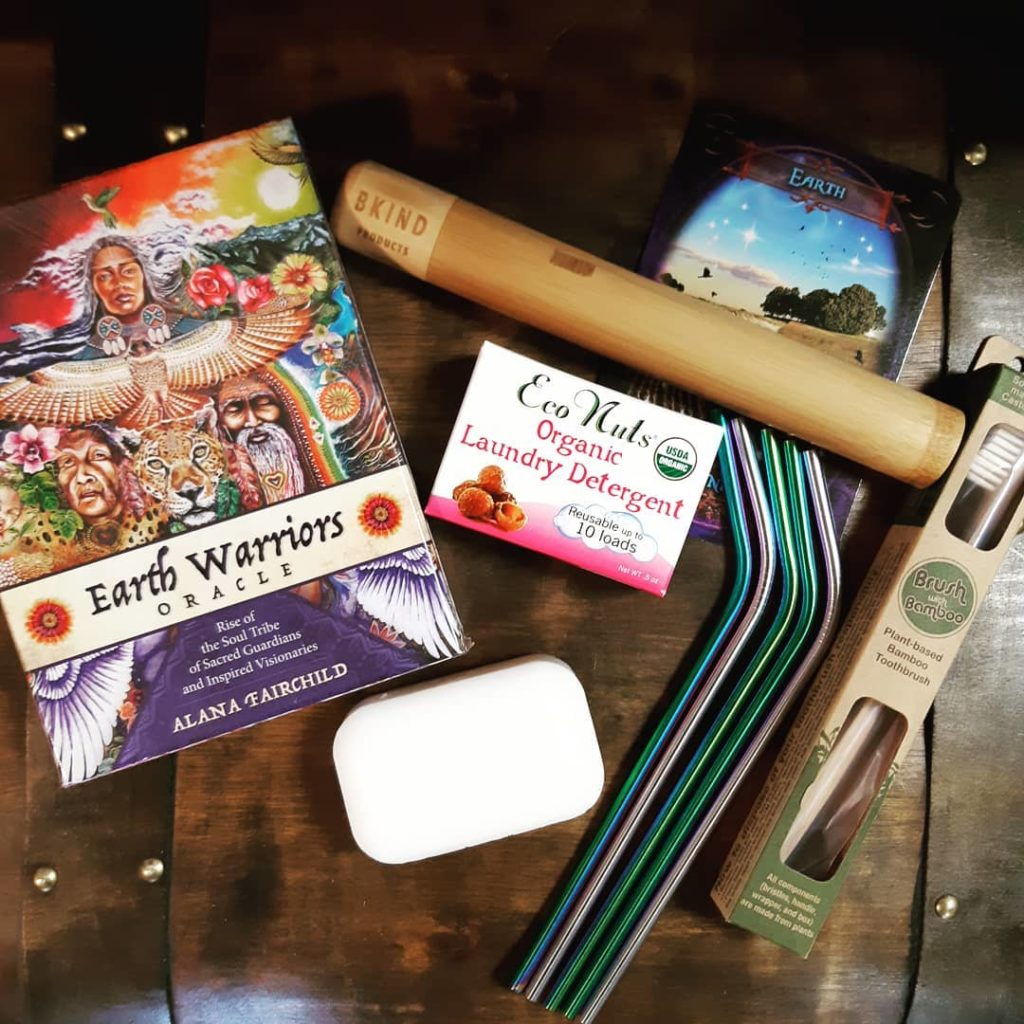 Here are a few of my favorite everyday Earth Warrior tools! Have a Magical Day!