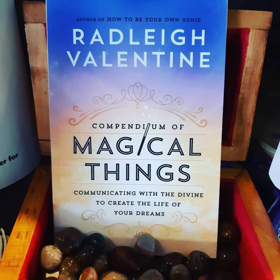 Oracle cards, pendulums, runes, and more, Radleigh Valentine knows how to activate your magic!