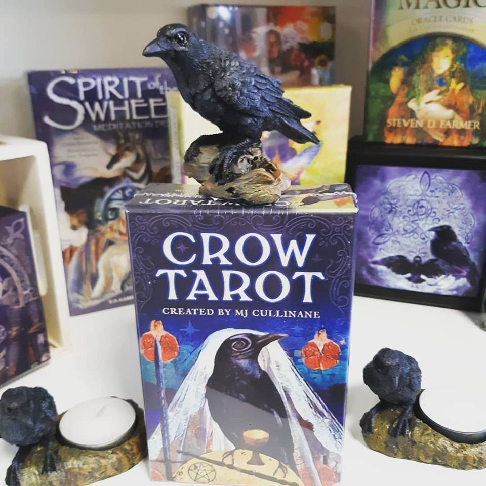 Crow Tarot invites us to fly through the veil and connect with our intuitive powers!