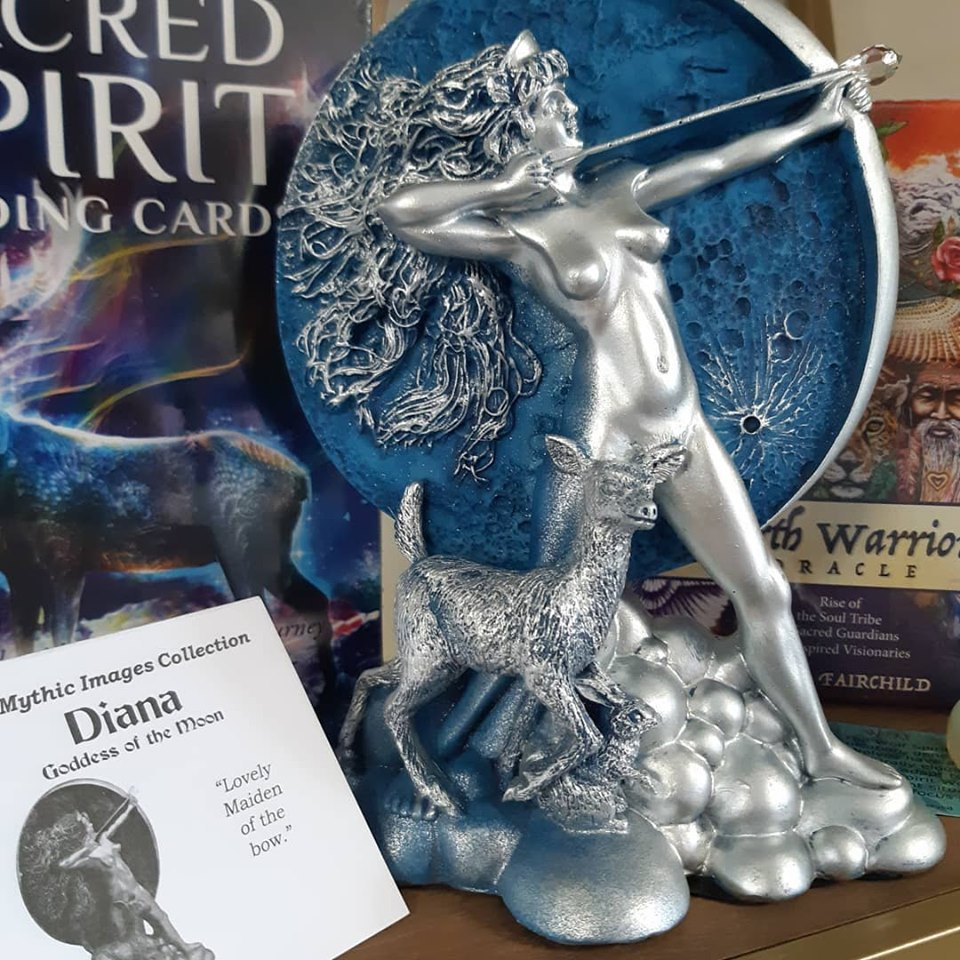 The Emporium welcomes Diana, Goddess of the Moon!