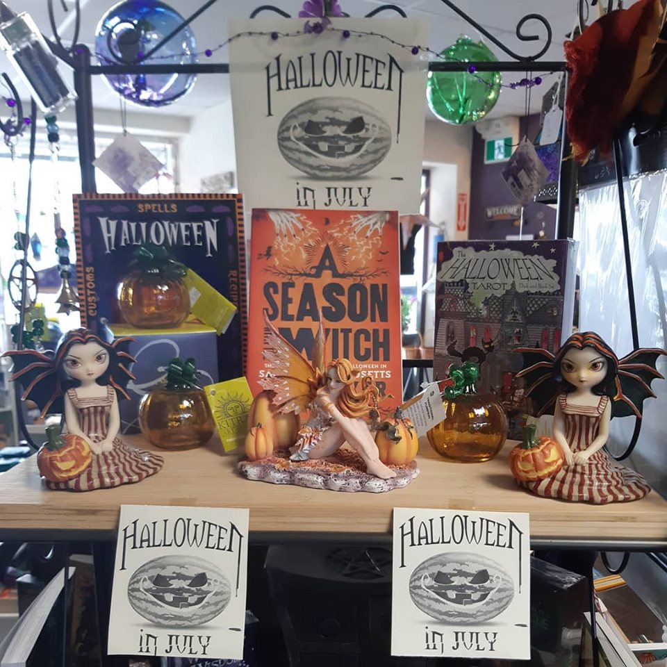 For a limited time at the Emporium... Halloween in July! We just could not wait!