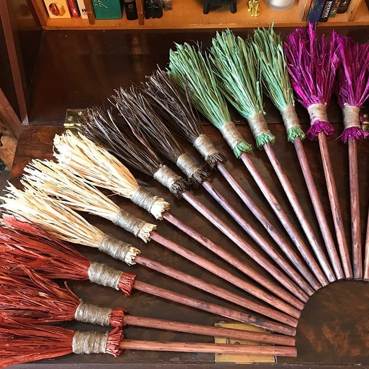 Tiny Brooms! Great for sweeping away the old and making room for the new!