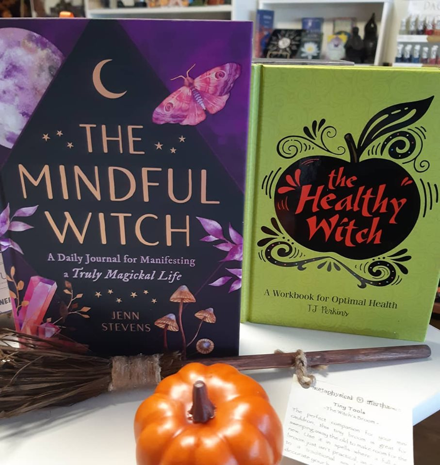 New at the Emporium! Witchy workbooks and journals!
