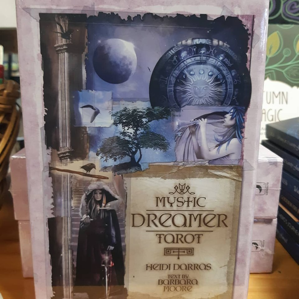 A Spooktacular 3 day Sale! $10 off The Mystic Dreamer Tarot!