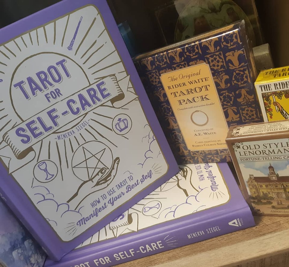 Allow the magic of the cards to guide you to health and balance with Tarot for Self-care!
