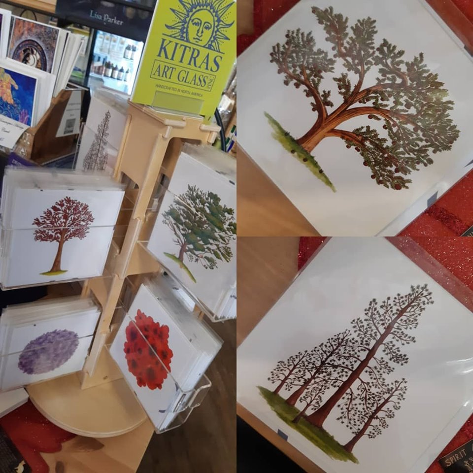 """Tree of Enchantment"" greeting cards now available at the Emporium!"