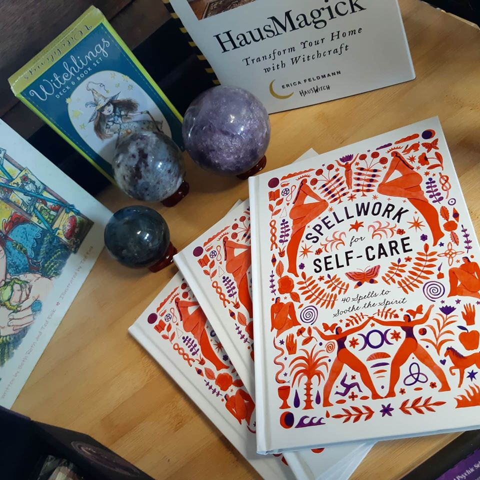 "Sprinkle magic into your self-care routine with ""Spellwork for Self-care""."